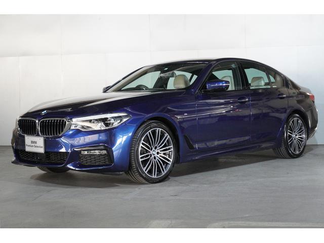 BMW 523i Mスポーツ白革イノベーションPKG新車保証継承