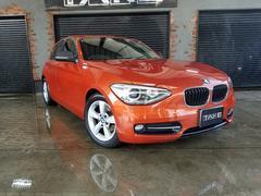 BMW116i スポーツ カーボンミラー・ナビ・バックモニター付