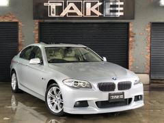 BMW528i サンルーフ 革シート 1オーナー 地デジ 記録簿