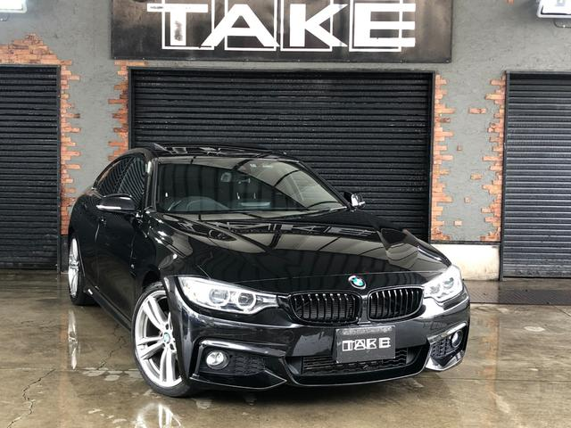 BMW 420iグランクーペ Mスポーツ 1オナサンルーフ OP19