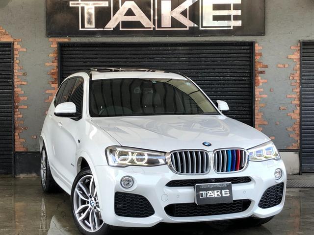 BMW xDrive 35i Mスポーツ SR LEDヘッド レザー