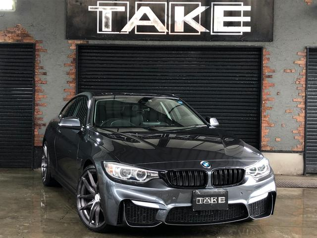 BMW 420iクーペ M4仕様 20インチAW ACC 黒レザー