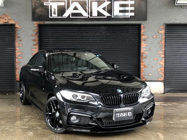 BMW 220iクーペMスポーツ レザー 18インチAW ドラレコ