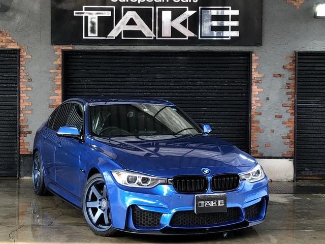BMW 320i Mスポーツ HDD Bカメ 純正18AW