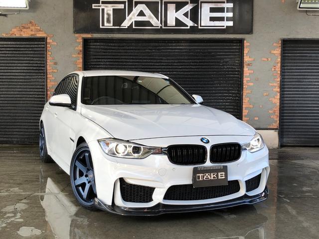 BMW 320d Mスポーツ M3仕様 カーボンリップ パドルシフト