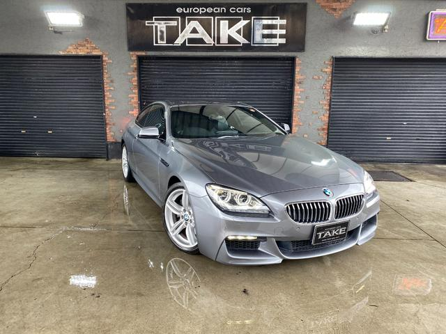 BMW 6シリーズ 640iクーペ Msportsパッケージ MsportsPKG専用19インチAW LEDヘッドライト 地デジナビ 前後PDCセンサー シートヒーター 3リッター直列6気筒ターボエンジン搭載