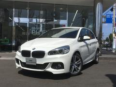 BMW218iアクティブツアラー Mスポーツ ブラウンレザー