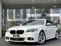BMW535iツーリング Mスポーツ 1オーナー サンルーフ黒革