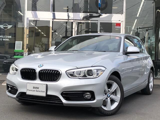 BMW 118d スポーツ 登録済み未使用車 Bカメラ 純正ナビ