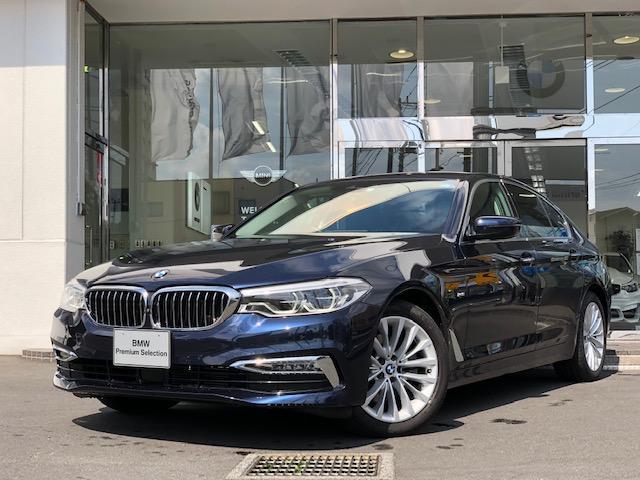 BMW 523d ラグジュアリー 弊社社有車 黒レザー ドラレコ装備