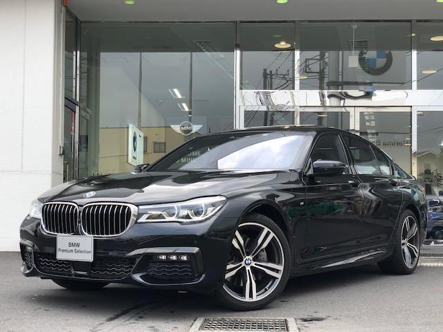 BMW 740d xDrive Mスポーツ 黒革 サンルーフ