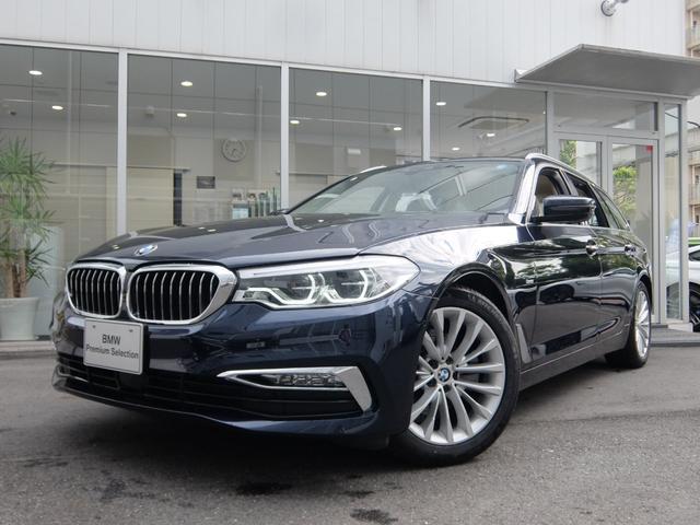 BMW 523iツーリング ラグジュアリー ベージュレザー TV