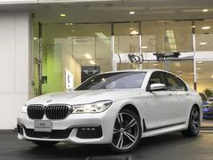 BMW740d xDrive Mスポーツ 黒革サンルーフ20インチ