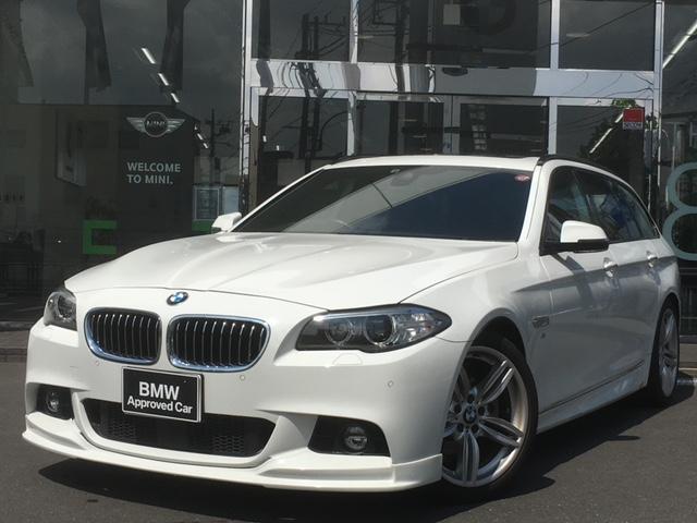 BMW 523dツーリング Mスポーツ 1年保証 サンルーフ ACC