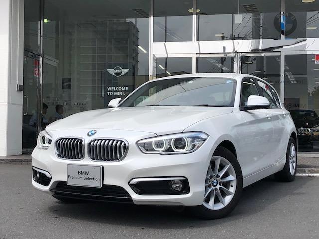 BMW 118i スタイル 1年保証 純正ナビ バックカメラ ETC