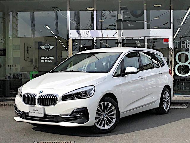 BMW 218dグランツアラー ラグジュアリー 黒革 ACC HUD