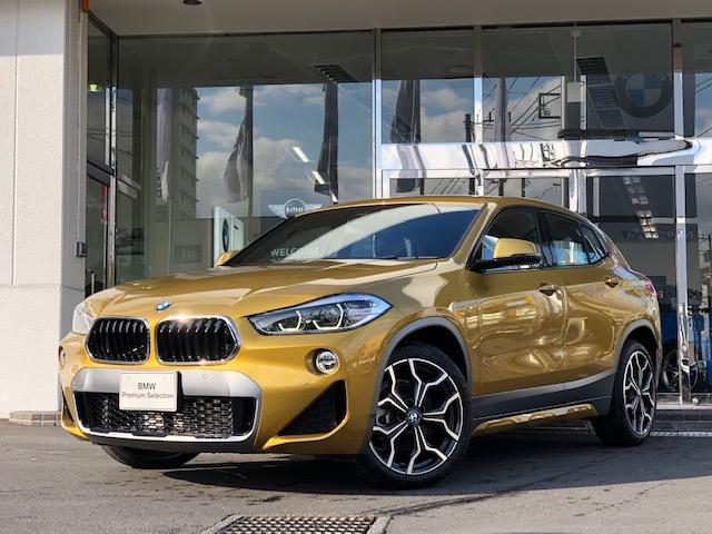 BMW xDrive18d MスポーツX 黒革シート ACC HUD