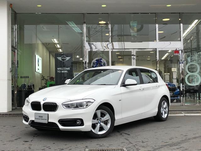 BMW 118d スポーツ パーキングサポート 衝突軽減
