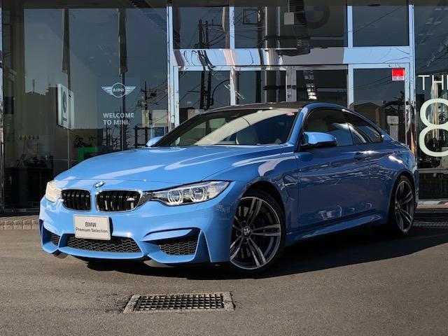 BMW M4クーペ 1年保証 レザーシート ACC カーボントリム