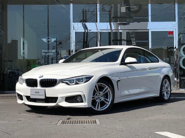 BMW 420iクーペ Mスポーツ 2年保証 黒革 ACC LED