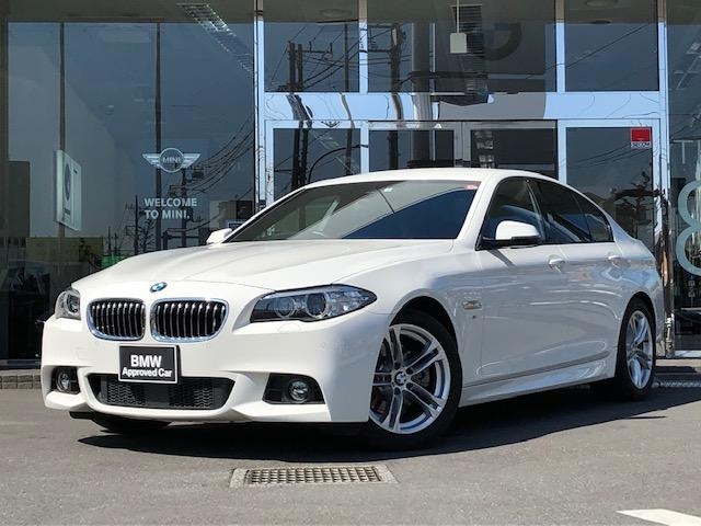BMW 523d Mスポーツ 1年保証 ACC TV 18インチAW
