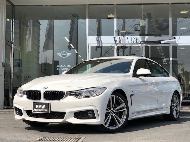 BMW 435iグランクーペMスポーツ左ハンドル 黒革 ヘッドアップ