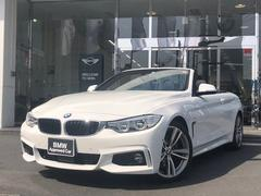 BMW440iカブリオレ Mスポーツ ブラックレザー 純正ナビ