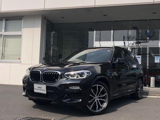 BMW X3 xDrive 20d Mスポーツ 2年保証 フルレザー ヘッドアップディスプレイ ジェスチャーコントロール ディスプレイキー 20インチホイール