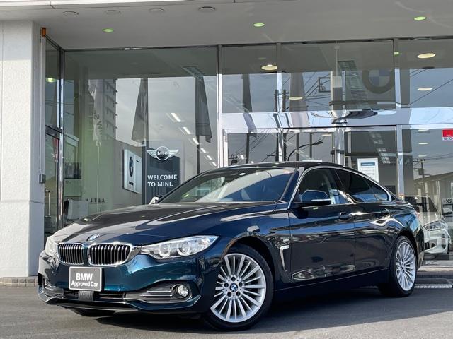 BMW 4シリーズ 420iグランクーペ ラグジュアリー ブラックレザー ワンオーナー車 バックカメラ 純正HDDナビ