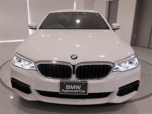 BMW 5シリーズ 523d Mスポーツ 1年保証 純正ナビ ACC ETC