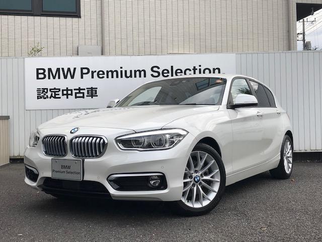 BMW 118i ファッショニスタ 1年保証 純正ナビ バックカメラ ACC ETC レザーシート