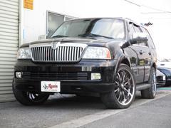 リンカーン ナビゲーターアルティメイト4WD1ナンバーHDDナビBカメラ バネサス