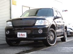 フォード エクスプローラーXLTエクスクルーシブ最終型HDDナビ本革シート同色バンパー