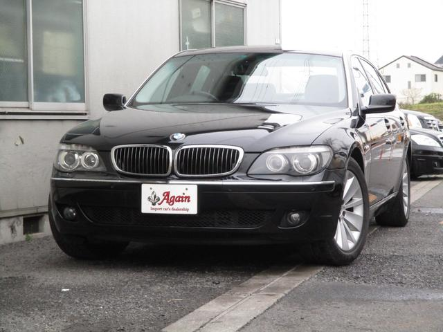 BMW 750LiコンフォートPKGサンルーフD車地デジHDDナビ