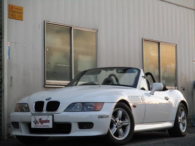 BMW Z3ロードスター 2.0i  地デジSDナビ 幌修正済み ...
