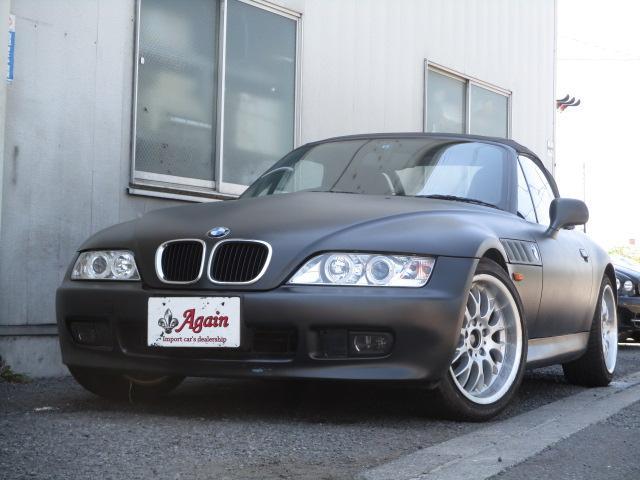 BMW 2.0 特別仕様車 電動オープン修理済 黒本革 電動シート