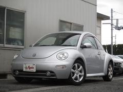 VW ニュービートルLZ 黒本革シート 地デジSDナビ ETC