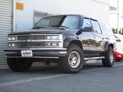 シボレー サバーバンLT最終型観音ドア4WD地デジHDDナビBカメラ1ナンバー