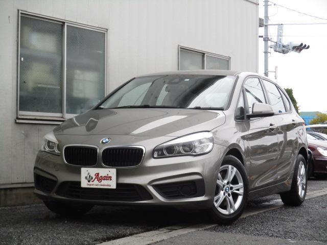 BMW 218iアクティブツアラーHDDナビBカメラ衝突軽減ブレーキ