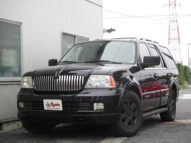 リンカーン リンカーンナビゲーター アルティメイト4WD新車並行バネサス 地デジSDナビBカメラ