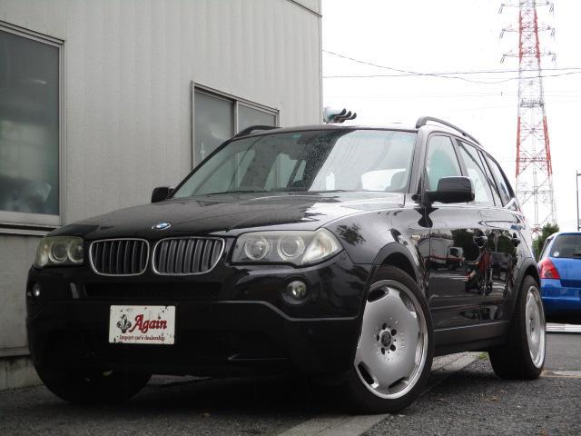BMW X3 3.0siスポーツPK黒革SR 20AW HDDナビBカメラ