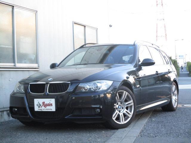 BMW 3シリーズ 320iツーリング Mスポーツパッケージ 黒革MスポーツPKG 正規D車 右H 禁煙 地デジSDナビ プッシュスタート
