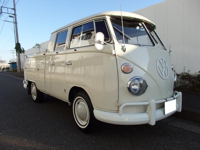 フォルクスワーゲン ベースグレード 空冷VW 1965年式 TYPE-2 W-CABワーゲンバス VW純正ホイール ホワイトリボンタイヤ