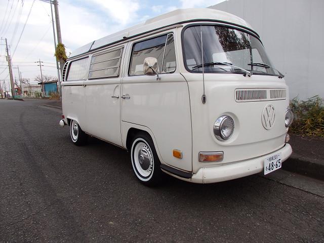 フォルクスワーゲン ベースグレード 1971年モデル TYPE-2 WESTYワーゲンバス ステンレスマフラー VW純正ホイール ホワイトリボンタイヤ 純正ディスクブレーキ
