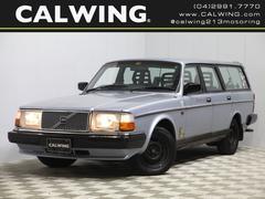 ボルボ240ワゴン GL ディーラ車 アルパインCDヘッドユニット