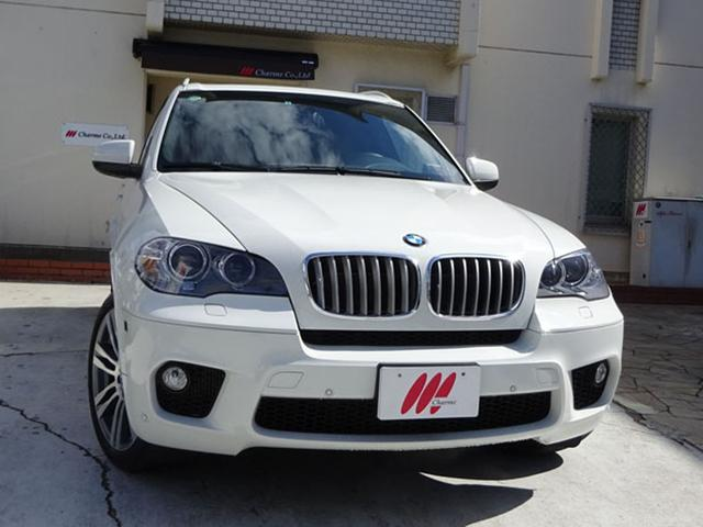 BMW xDrive50iMスポーツPKGダークブラウン本革SR