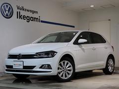 VW ポロTSIハイライン 当店試乗車 9.2インチナビ 衝突軽減