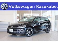 VW ゴルフヴァリアントTSIハイライン テックエディション 登録済未使用車 禁煙車