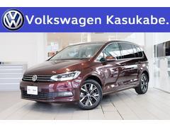 VW ゴルフトゥーランTDI プレミアム 登録済未使用車白革 サンブラインド ナビ