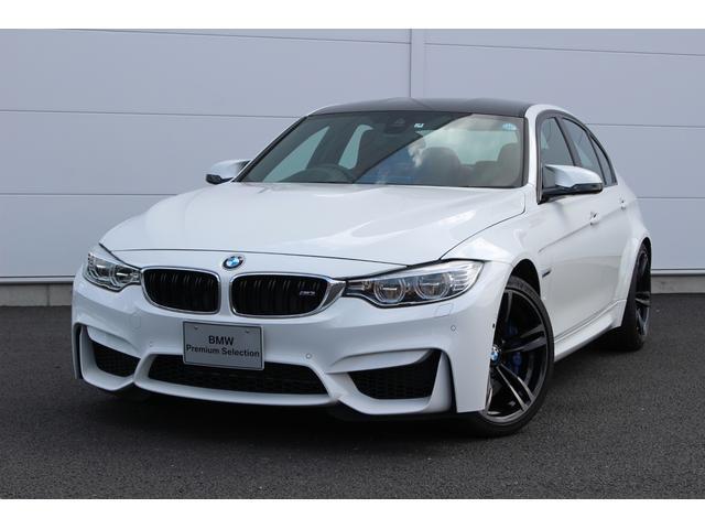 BMW M3 セダン 認定中古車 試乗車